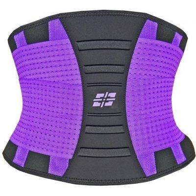 Power System Waist Shaper tvarující a zeštíhlovací pás fialový
