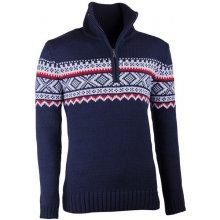Assante pánský svetr norský vzor 51022 modrá