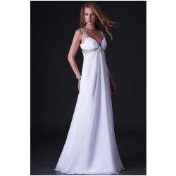 plesové nebo svatební šaty na ramínka Bílé alternativy - Heureka.cz f99a6b0835