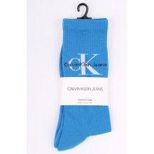 471fd1a68ee Calvin Klein modré pánské ponožky Jeans Logo Indigo