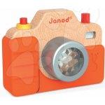 Janod dřevěný fotoaparát se zvuky a světlem