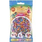 Hama Zažehlovací korálky MIDI duhové mix barev 1000ks H207-92