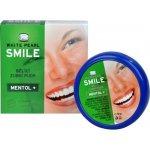 VitalCare Bělící zubní pudr SMILE Mentol+ 30 g
