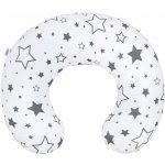 NEW BABY Kojící polštář hvězdy šedé
