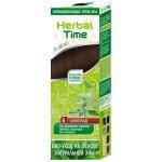 Henna přírodní Herbal Time barva na vlasy (Čokoláda -6) 75 ml