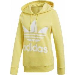 Adidas Originals Trefoil Hoodie žlutá dámská mikina - Nejlepší Ceny.cz f972a8dada