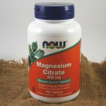 Now Magnesium Citrate hořčík citrát 200 mg x 100 tablet