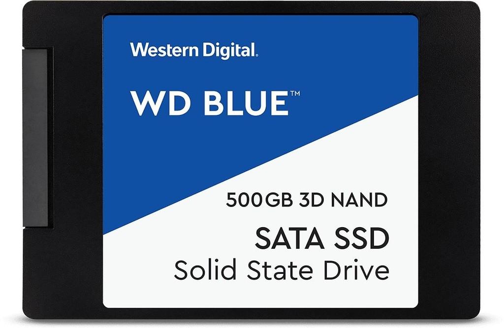 Recenze WD Blue SSD 500GB, WDS500G2B0A