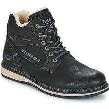 Tom Tailor Kotníkové boty KERNA Černá 7084136c59