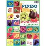 Abeceda Pexeso: Ovoce a zelenina