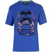 No Fear Core Graph T Shirt Mens Blue/Skull