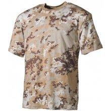 MFH maskáčové tričko vzor vegetato desert