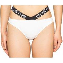 Calvin Klein plavkové kalhotky X Bikini KW0KW00074-100 White