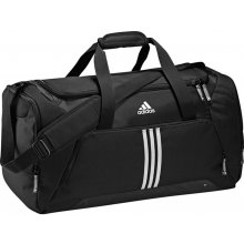 Adidas 3 Stripe Essential Team Bag Medium Black/White