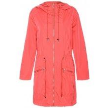 Drywash dámský lehký jarní kabát meloun