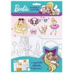Barbie Omalovánky, magnetky, samolepky