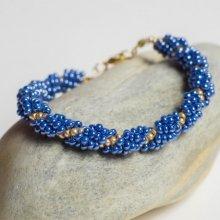 hedy natelNáramek Slavnostní modrá modrá 34