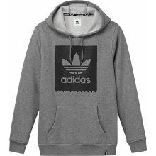 Adidas Blackbird Basic Hoody šedá