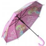 E plus M Dívčí deštník Frozen růžový