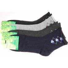 Ellasun pánské zdravotní bambusové ponožky 3 páry ffed047139