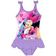 E plus M dívčí plavky Minnie fialová