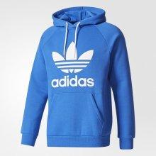 Adidas Raglan Trefoil Hoody modrá