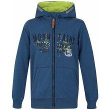 Loap Degi dětská mikina s kapucí modrá / modrá
