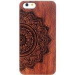 Pouzdro AppleKing dřevěné Apple iPhone 6   6S - mandala 3eb37cef249