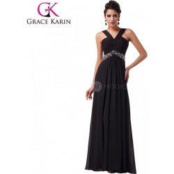 5ec9656f9a8 Grace Karin dlouhé šaty na ples CL6013 Černá alternativy - Heureka.cz