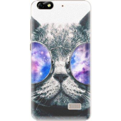 Pouzdro iSaprio Galaxy Cat Huawei Honor 4C