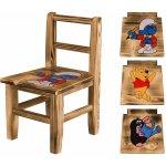 Drewmax židlička s obrázkem borovice
