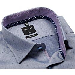 Modrá košile s puntíkem. Pánská Košile Olymp Modern Fit ... 976d2bcc9d