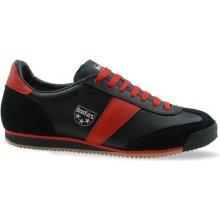 Botas CLASSIC Premium černo-červené