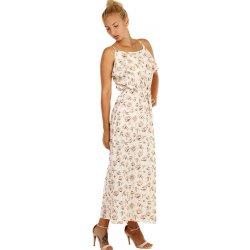 Dámské šaty TopMode dlouhé letní šaty s květinovým vzorem d4af697163