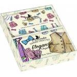 La Dispensa Eleganza 200 g mýdlo + tři vonné sáčky dárková sada