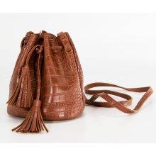 bfb74f1b17 Fashion Icon kabelka Crocodile Skin bucket bag motiv krokodýl MA0083-08