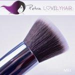 Petra Lovely Hair M51 Kosmetický štětec na tekutý makeup a pudr Flat Top 16 cm