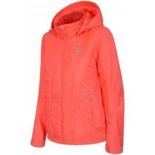 4F dámská lyžařská bunda H4Z17 KUDN003 oranžová