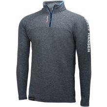 Helly Hansen HP 1/2 ZIP Pullover Charcoal pánský funkční pulovr