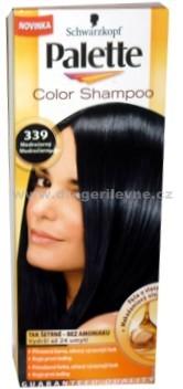 Palette Color Shampoo Modročerný 339