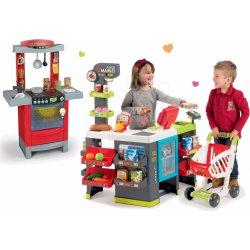9833850f4 Dětský obchůdek Smoby dětský obchod City Shop a kuchyňka Cook'Tronic Tefal  350211-20
