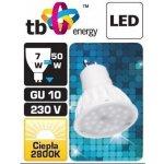 TB Energy LED žárovka GU10 230V 7W Teplá bílá
