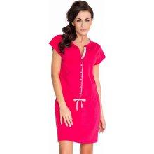 Dobranocka TM 5041 těhotenská noční košile růžová