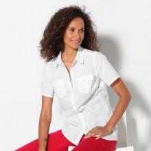 Blancheporte Košile s krátkými rukávy bílá