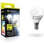 Moonlight LED žárovka E14 240V 5W 405lm teplá 45mm/83mm