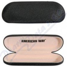 AMERICAN WAY S.R.O. Pouzdro na brýle černé 7531