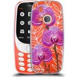 Pouzdro Head Case Nokia 3310 Hezoučké kvítky