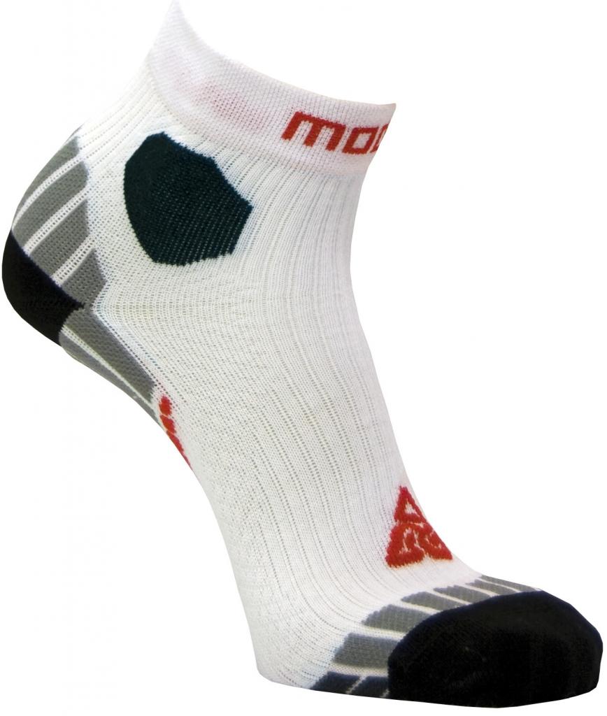 Moose Ultramarathon běžecké ponožky bílá a16ef19adc