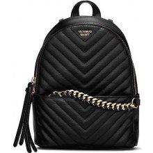 Victoria s Secret Glam V quilt Mini backpack black d56061bd9e