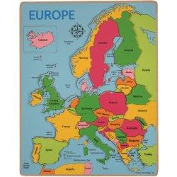 Bigjigs Mapa Evropy Od 222 Kc Heureka Cz